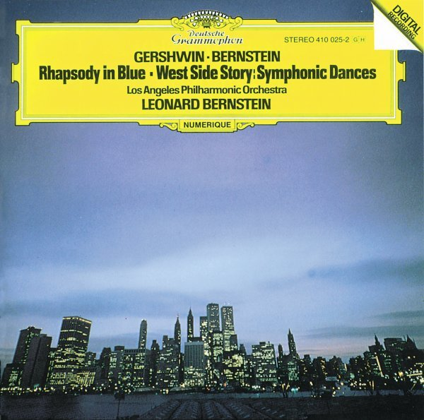 "Gershwin: Rhapsody In Blue; Prelude For Piano No. 2 / Bernstein: Symphonic Dances From ""West Side Story"""
