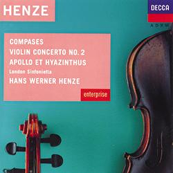 Henze: Compases; Violin Concerto No.2 etc