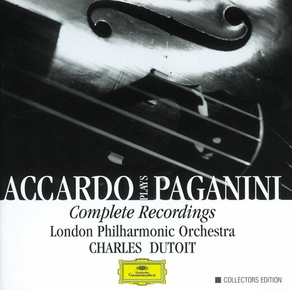 Accardo Plays Paganini- Complete Recordings