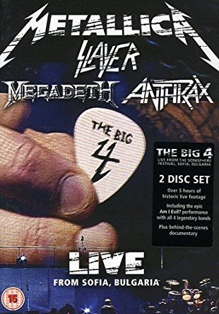 The Big Four: Live From Sofia Bulgaria