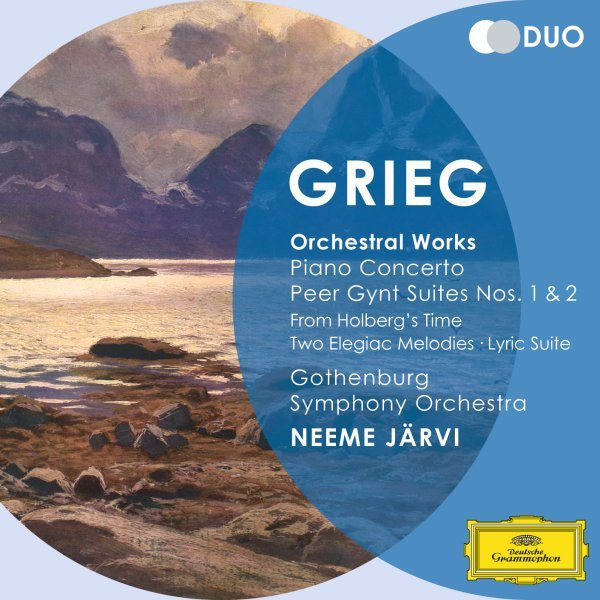 Grieg: Orchestral Works - Piano Concerto; Peer Gynt Suites Nos.1 & 2; From Holberg's Time; Two Elegiac Melodies; Lyric Suite