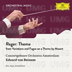 Reger: Variations and Fugue on a Theme by Mozart, Op. 132: Theme