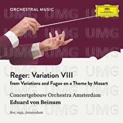 Reger: Variations and Fugue on a Theme by Mozart, Op. 132: Variation VIII