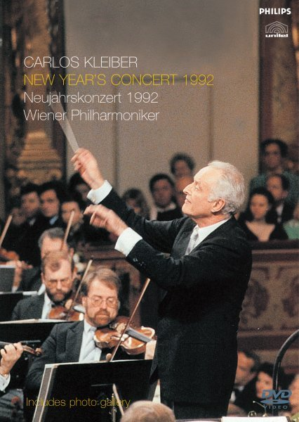 Kleiber conducts New Year's  Concert 1992