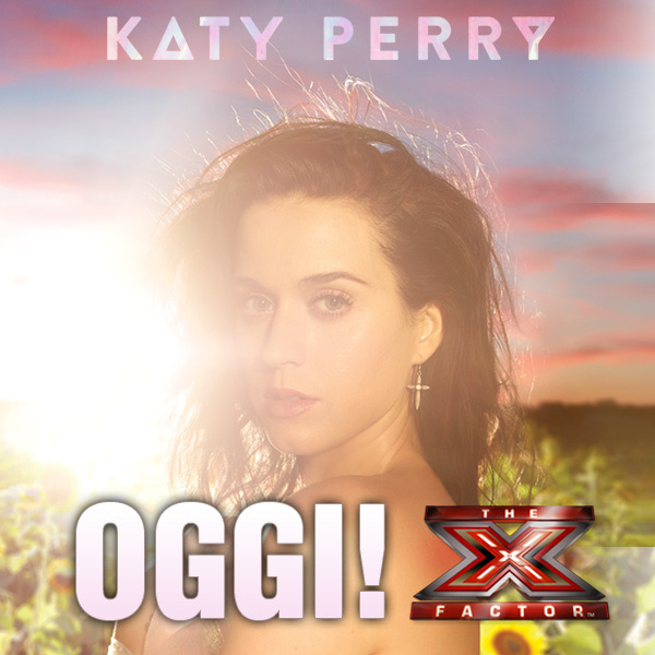 Katy Perry stasera ospite ad X Factor