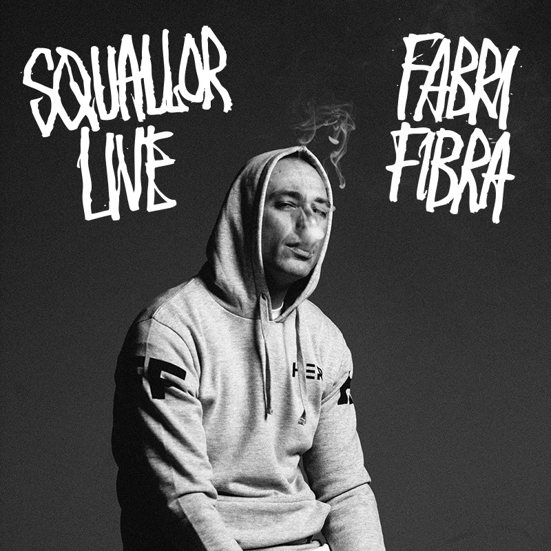 "Fabri Fibra: ""Squallor LIVE"" in esclusiva su iTunes ed Apple Music"
