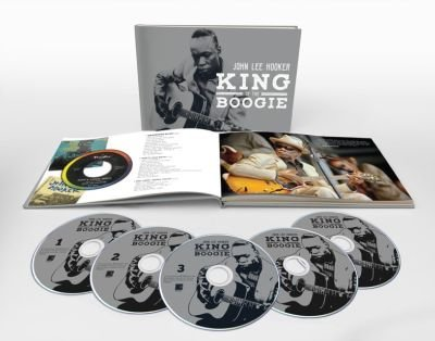 "JOHN LEE HOOKER "" King of the Boogie"": 100 tracce su 5CD ripercorrono la favolosa carriera del grande bluesman nel 100° anniversario della nascita"