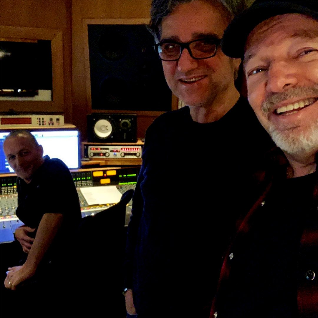 VASCO ROSSI in studio con Gaetano Curreri