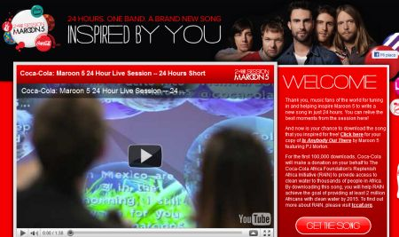 "MAROON 5: SOLO PER OGGI FREE DOWNLOAD DEL NUOVO BRANO ""IS ANYBODY OUT THERE"""