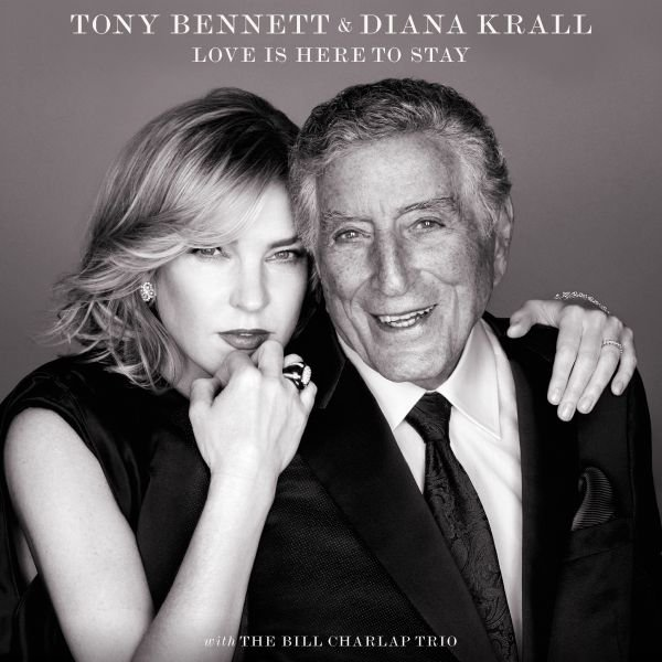 TONY BENNETT E DIANA KRALL CELEBRANO I FRATELLI GERSHWIN NEL LORO ALBUM IN DUO 'LOVE IS HERE TO STAY': ASCOLTA IL PRIMO SINGOLO!