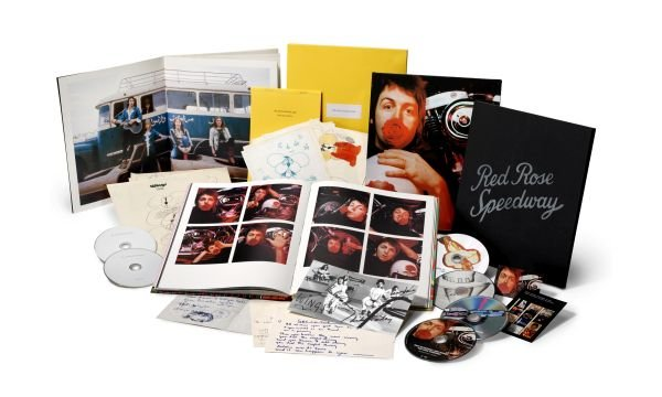 "Vuoi fare (o farti) un regalo per Natale? Ecco la favolosa Super Deluxe edition di ""Red Rose Speedway"" di Paul McCartney & Wings"